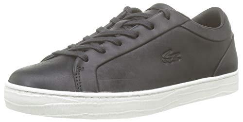 Lacoste Straightset 319 2 Cfa, Zapatillas para Mujer, Negro (Black/Offwhite 454), 40 EU