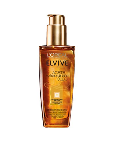 L'Oreal Paris Elvive Aceite Extraordinari, Aceite para el cabello - 100 ml