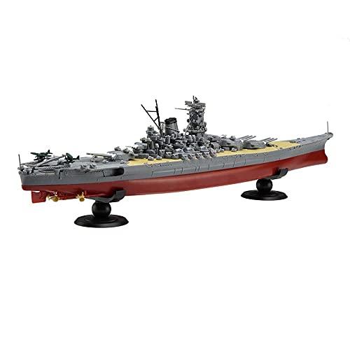 CMO Maqueta de Maquetas de Barcos, Acorazado Yamato de la Armada Japonesa Kits Modelo de Plástico, Escala 1/350, 30 x 4,1 Pulgadas