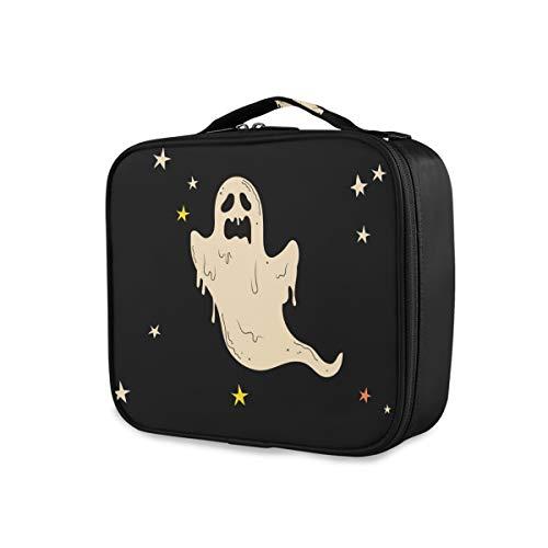 Montoj Spooky - Bolsa de maquillaje para mujer, diseño de fantasmas de Halloween