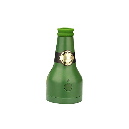 TwoCC Meistverkaufte Bier Bubbler Flasche Geformt in Dosen Kreative Küche Gadget Bar Party (Kaffee)