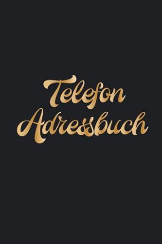 Telefonregister Senioren: Telefon Register Adressbuch A Z || Schwarz Kontaktbuch & Soziale Medien Passwort Organizer - Klein A5 Back Geschenke Für 70 Geburtstag Frau