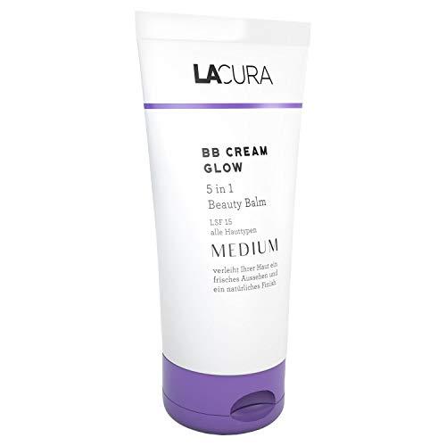 Lacura BB Cream Glow 5 in 1 Beauty Balm LSF 15 - Medium - Inhalt: 50ml Neu!