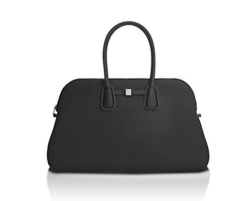 Save My Bag - Borsa da uomo e da donna – Principe – Lycra Print – Nero