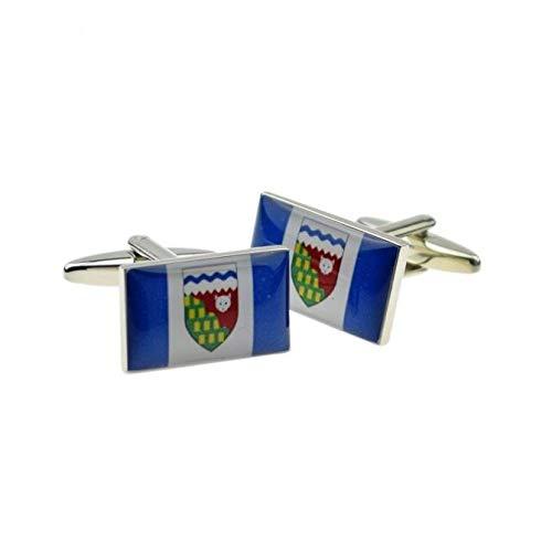 Ashton en Finch Canadese Noordwest Gebieden Vlag met Geschenkdoos & Verzending uit het Verenigd Koninkrijk