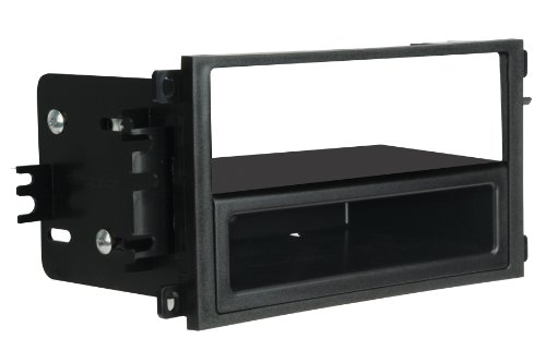 Scosche Dash Kit for 1992-Up GM Oversize Double Din with Pocket Kit/2002-Up Pontiac Vibe/Toyota Matrix