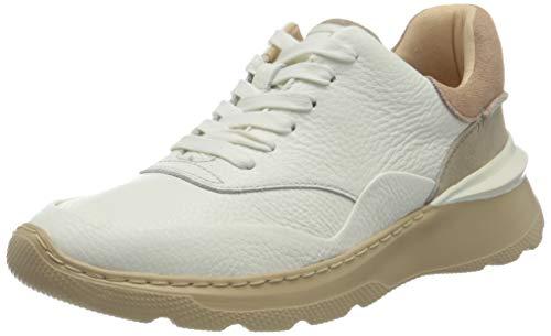 Clarks Sprintlitelace, Zapatillas Mujer, Color Blanco, 35.5 EU