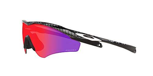 Product Image 3: Oakley Men's OO9345 M2 Frame XL Asian Fit Rectangular Sunglasses, Carbon Fiber/Prizm Road, 45mm