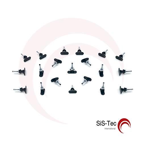 Kim Kranholdt GmbH 0157979 - Clip di fissaggio per carena, 20 pezzi