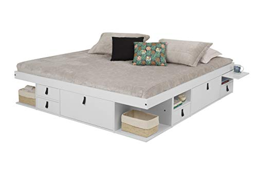Memomad Bali Storage Platform Bed with Drawers review