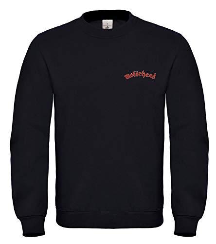 Motörhead Punk Rock Metall Music Fun Bestickte Logo Sweatshirt Premium Qualität - 6159 (XL)