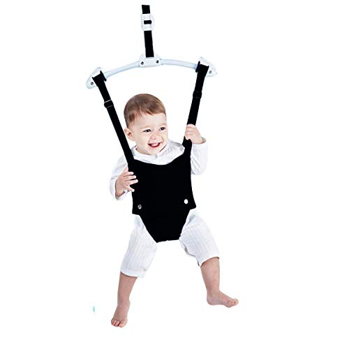 Baby Door Jumpers and Bouncers Exerciser Set with Door Clamp Adjustable Strap for Toddler Infant 6-24 Months…