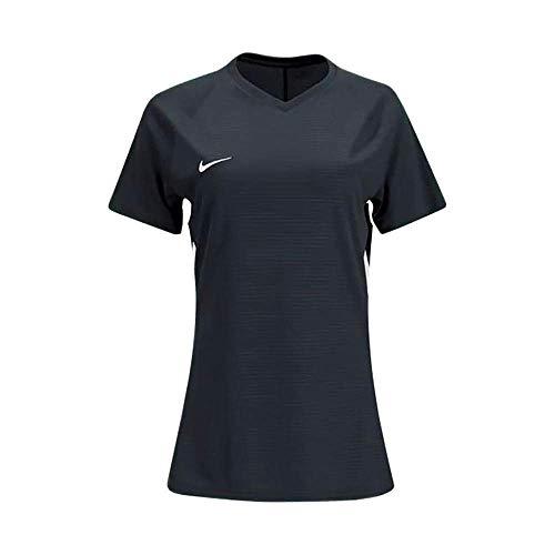 Nike Womens Short Sleeve US Tiempo Premier Soccer/Futbol Jersey – Black/White Size Medium