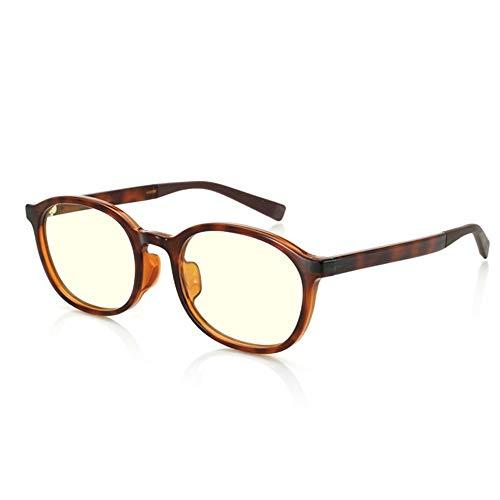 Zonnebril voor vrouwen | Blue Light-bril - Radiation Protection Computer Goggles Bril 40% Anti-blauw Glazen comfortabel en natuurlijk effectief blokkeren UV TR Material (geen diploma) (Color : B)