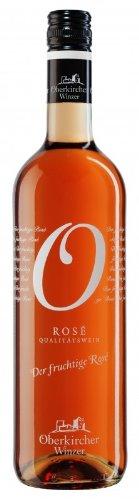 Oberkircher Winzer Spätburgunder Rosé Qualitätswein Feinherb (1 x 0.75l)