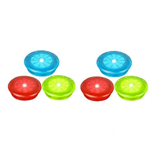 Moto Luces del Rayo Ilumina la Rueda del neumático del LED Lámparas de Bicicletas Instalación Colorido Impermeable para Adultos 6PCS niños para Deportes al Aire Libre