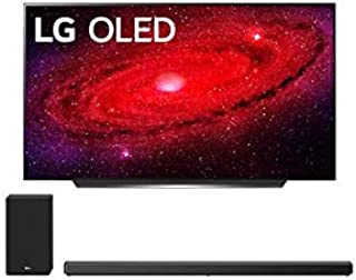 """LG OLED48CXP 48"""" 4K Self Lighting OLED Dolby Vision Smart Ultra HD TV with an LG SN10YG 5.1.2 Ch High-Resolution Dolby Aud..."""