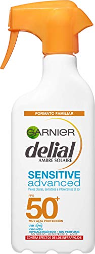 Garnier Delial Spray Sensitive Advanced Adultos crema solar para pieles...