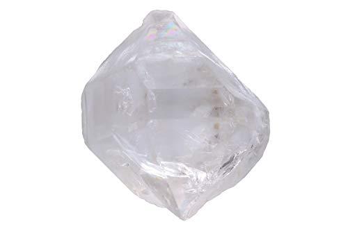 Herkimer Diamant - Cristal de roca (25 x 30 x 20 mm, doble punta)