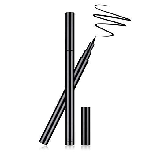 Lurrose 1 pc Liquide Eyeliner Poignée En Plastique Smudge-preuve Longue Durée Rapide Séchage Eyeliner Pen Eye Cosmétiques Maquillage Pour Les Yeux pour Filles Dames Femmes