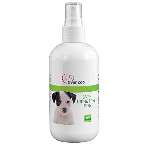 Over-Zoo Urinentferner Urine Free Dog Spray (250 ml) Fleckenentferner hoch wirksamer Geruchsentferner für Urinflecken und Pinkelstellen von Hunden