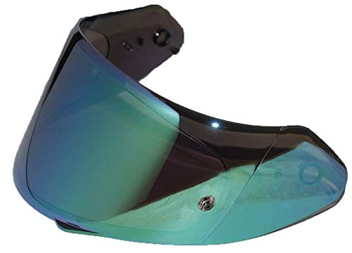 Scorpion ELLIP-TEC FaceShield Mirrored Green Maxvision (KDF14-2)