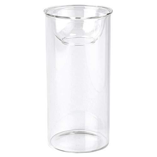 SPICE OF LIFE(スパイス) 花瓶 水栽培ガラスベース BULB VASE バルブベース クリア ロング 直径8cm 高さ17cm KEGY4070