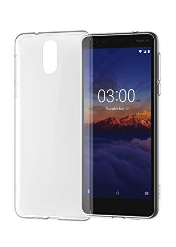 Nokia 3.1 Clear Cover Case - Transparent