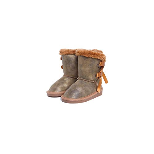 CANGURO 59421 Bottines modèle esquimese bottes d'hiver - Beige - bronze, 39 EU Larga EU