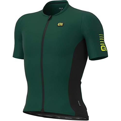 Alé Cycling R-EV1 Race Kurzarm Trikot Herren Dark Green Größe XL 2020 Radtrikot kurzärmlig
