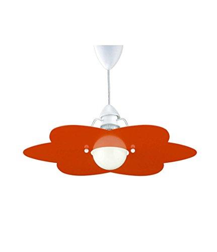La Luce del Futuro 1194/S.Arc - Lámpara de techo (60 W), color naranja