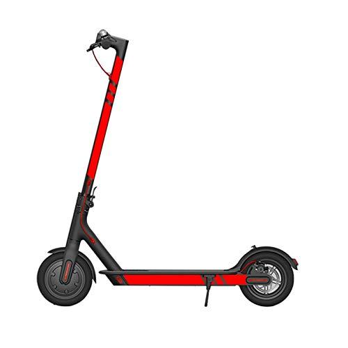 Für xiaomi elektro-roller m365 aufkleber roller styling aufkleber zubehör reflektierend