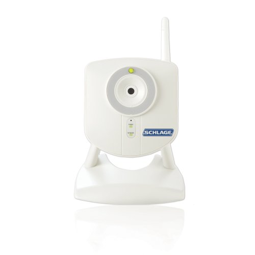 Schlage WCE100 Home Indoor Camera with Nexia Home Intelligence, White