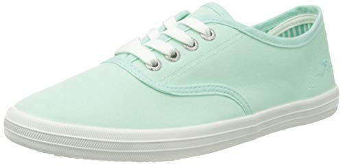 TOM TAILOR Damen 1192403 Sneaker, Mint, 41 EU