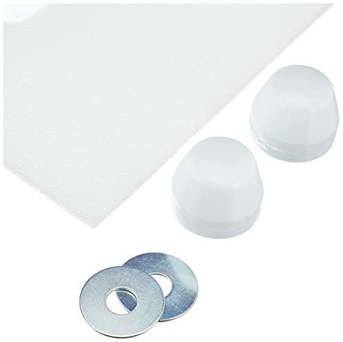 Sanit Schallschutzset für Wand-WC und Bidet, 1 Stück, weiß, 16.002.00..0000 - 3