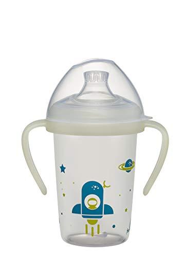 nip® first moments Trinklernflasche Rakete, ab 6 Monaten