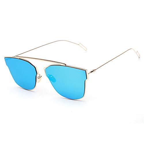 XIMAO Koreaanse mode klassieke zonnebril Trend Street Shot zonnebril anti-uv antibacteriële kikker spiegel