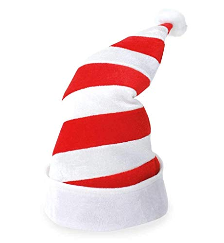 KarnevalsTeufel Weihnachtsmütze, gestreifte Zipfelmütze, Weihnachten, Köln, Weihnachtself