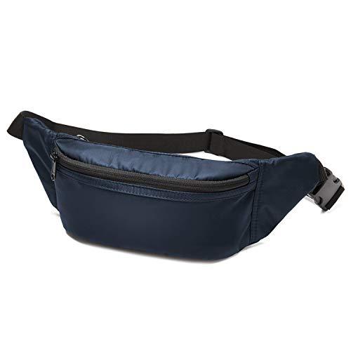 Wind Took Gürteltasche Bauchtasche Hüfttasche Brusttasche Handytasche Sporttasche für Alltag Reise Wanderung Outdoor Freizeit Damen und Herren,Blau