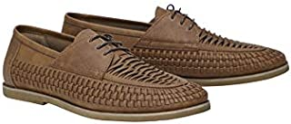 Tarocash Men's Sammy Lace Up Shoe Footwear Sizes 7-13 for Going Out Smart Occasionwear