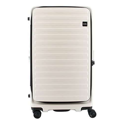 [ロジェール] スーツケース 100L 76.5cm 4.9kg ホワイト