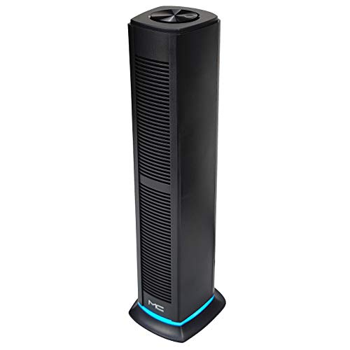 [Vertical] USB Powered Computer Speaker, PC Speaker for Desktop Computer, Laptop Speaker with 8W Loud Volume, Wireless Bluetooth 5.0 & Wired 3.5mm AUX Connection, Volume Knob, LED Light
