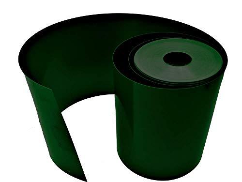 Sorton Flexible Rasenkante Rasenkante Rasenkante Rasen Garten Kunststoff PVC verschiedene Längen und Farben Gras (20cm/25m, Grün)