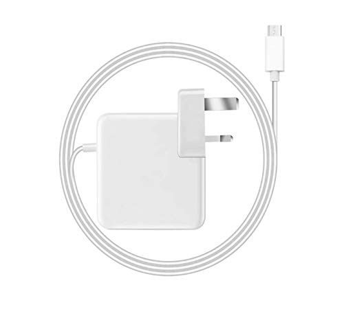 Mac Book Pro Charger USB C 87W Compatible with New Mac Book 11''&13''&15'' Inch 2016 2017 2018 2019 Thunderbolt Charger and Smartphones & Tablets with USB C and Type C Ports, Come With 2m USB C Cable
