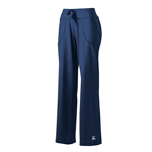 Mizuno Elite 9gerade Lange Hosen, Damen, Navy