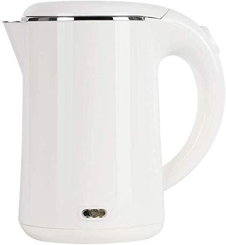 Allamp Portable 1L Bouilloire électrique de Faible Puissance, Acier Inoxydable sans Soudure Liner Chauffe-Eau, 500W Rapide ébullition Anti-ébouillantage Pot, utilisé for l'eau Chaude Teapot