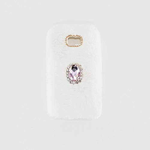 YHY Blanco Noble Elegante Caja del Teléfono Móvil Diamantes imitación TPU Funda Silicona para Samsung Galaxy S7 Edge Phone Case