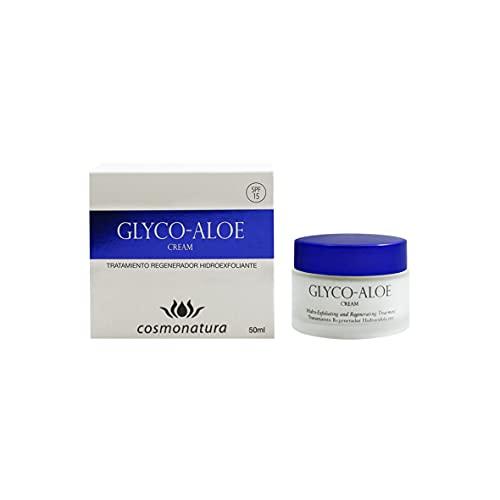 Thermal Teide Glyco-Aloe - Crema exfoliante facial con ácido glicólico, 50 ml