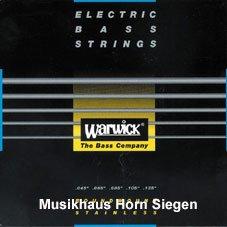 Warwick Black Label Bass Saiten 45 - 135, 5-Saiter