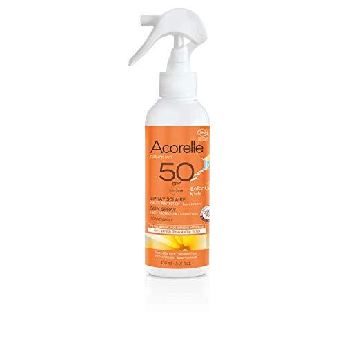Acorelle KIDS Sunscreen Spray SPF 50 - NEW 150ml
